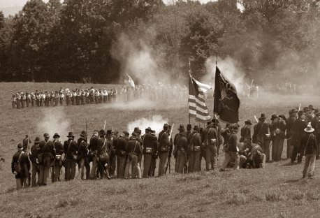 Mill Springs battle reenactment